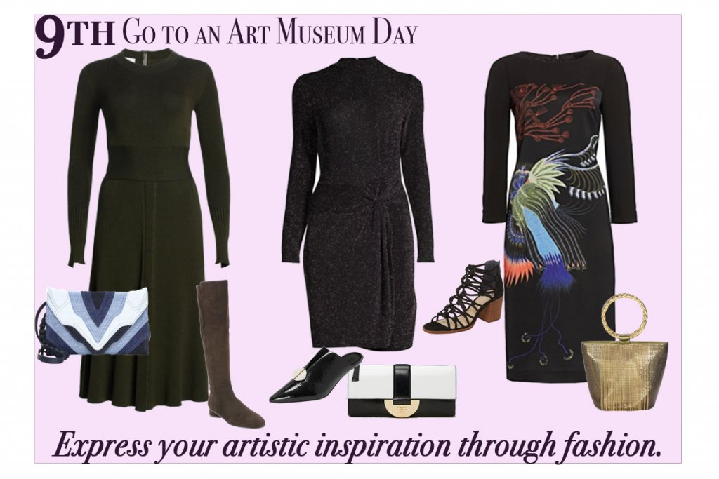 November 9-Go to an Art Museum Day