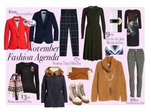 November Fashion Agenda