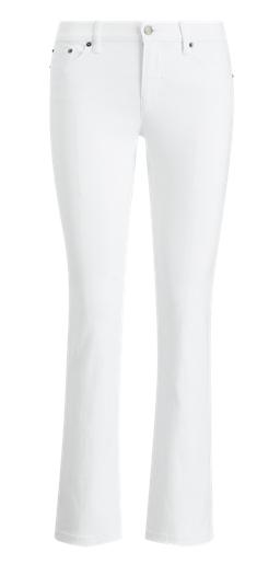 Ralph Lauren, Classic Straight White Jean