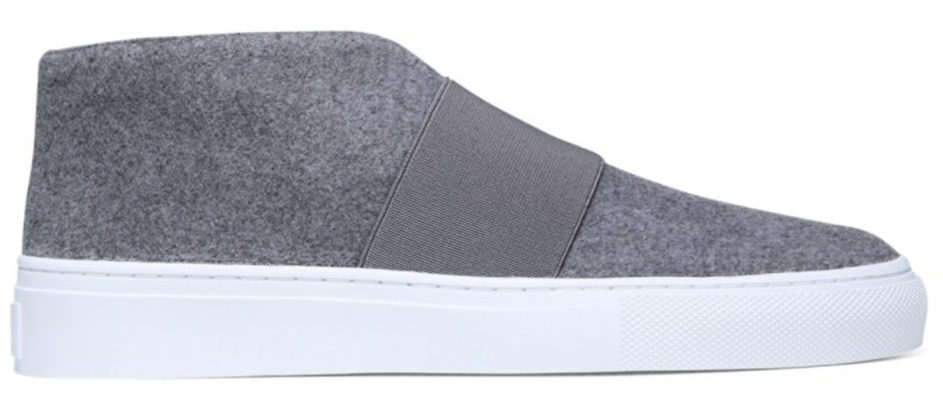 Via Spiga Sayer Boiled Wool Sneakers