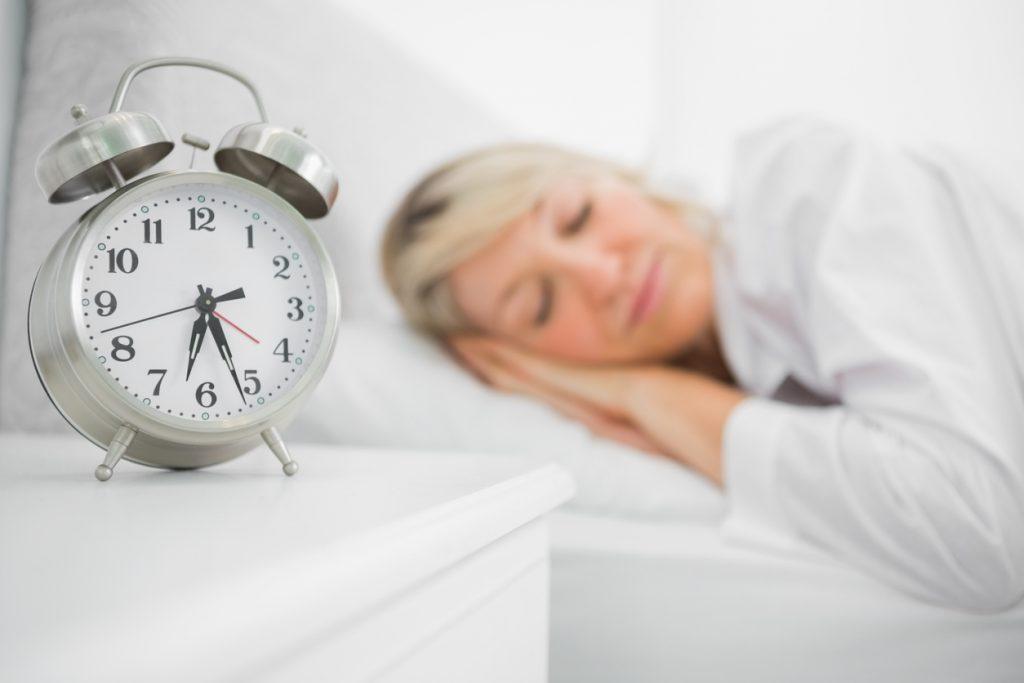 Woman Sleeping - time off