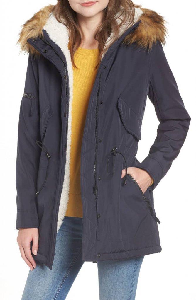 s13ny anorak coat