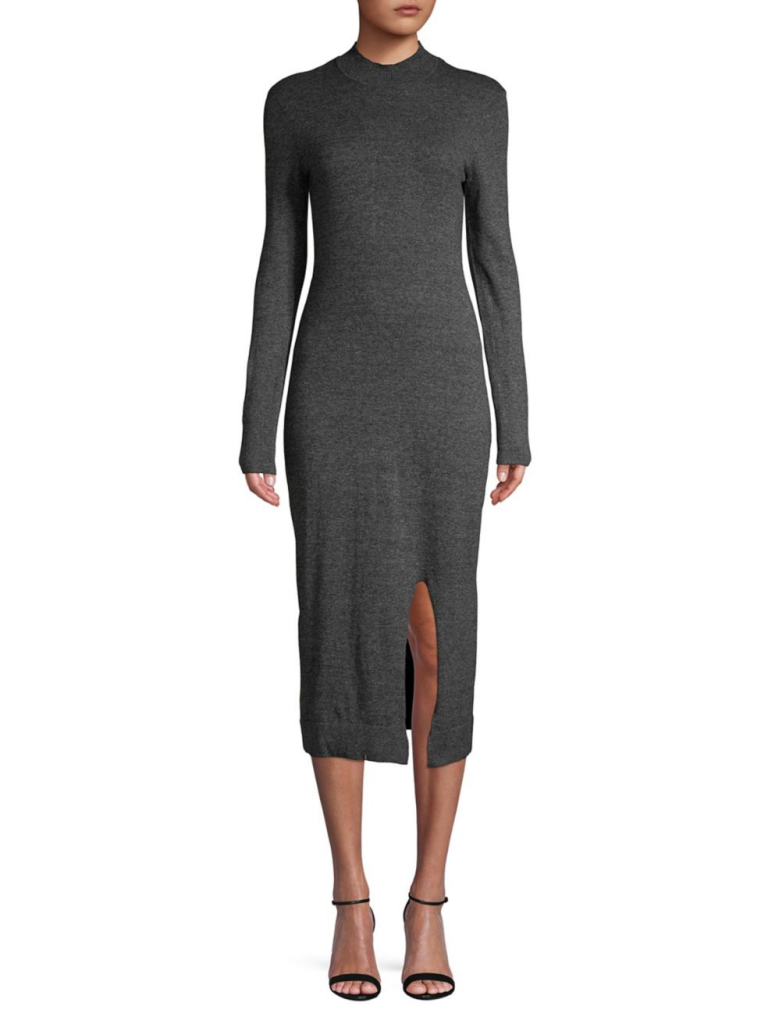 BCBGeneration Mockneck Sweater Dress