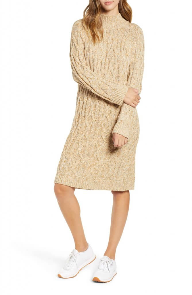 BP Cableknit Dress