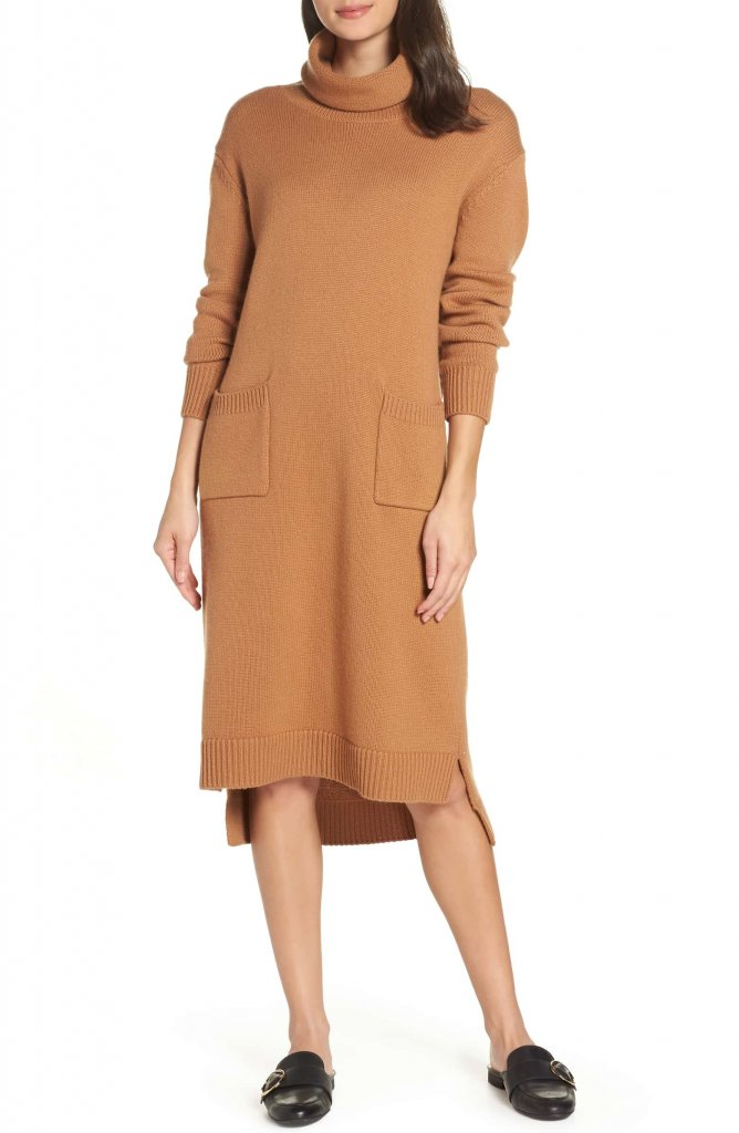 Caara Turtleneck Sweater Dress