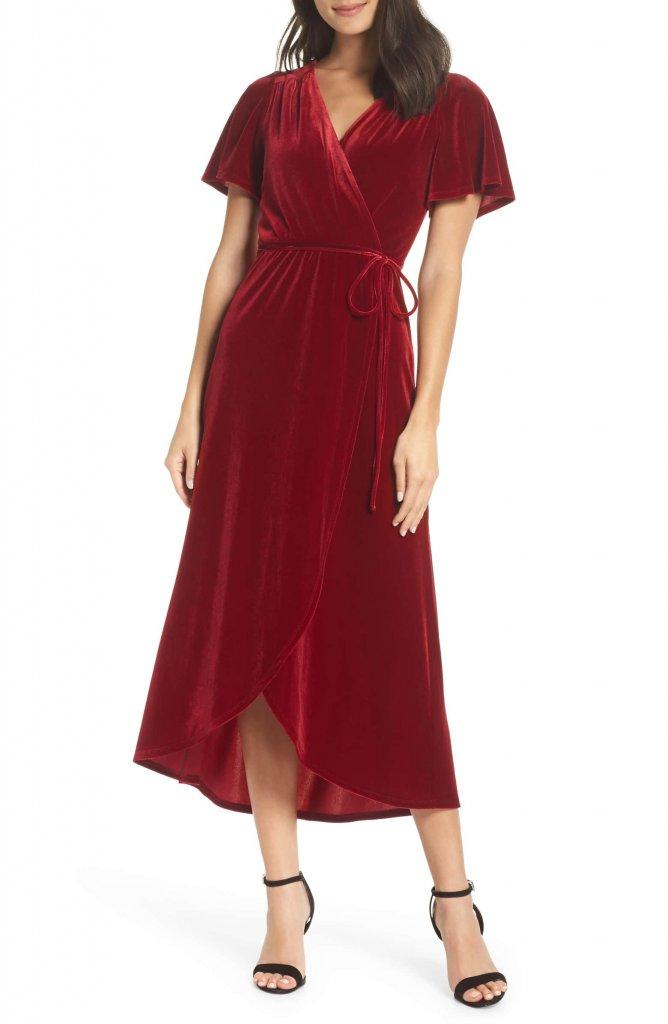 Chelsea Velvet Midi Dress