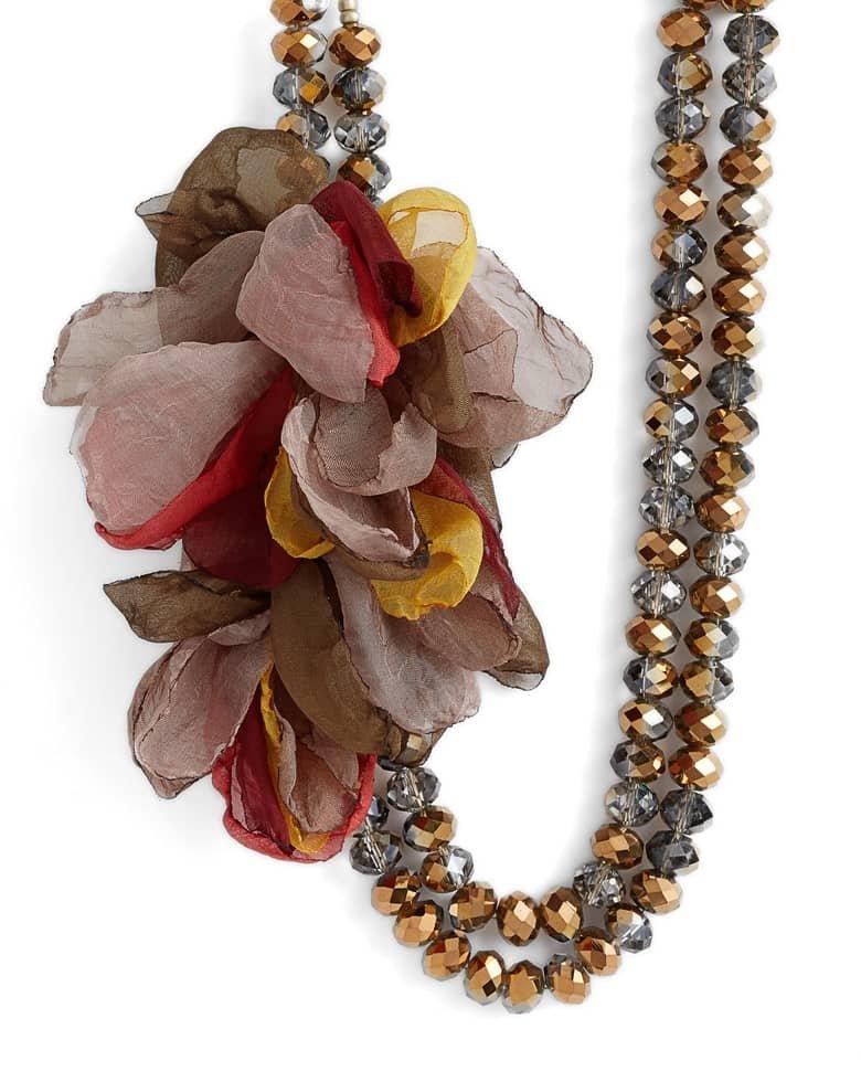 Chiffon Necklace