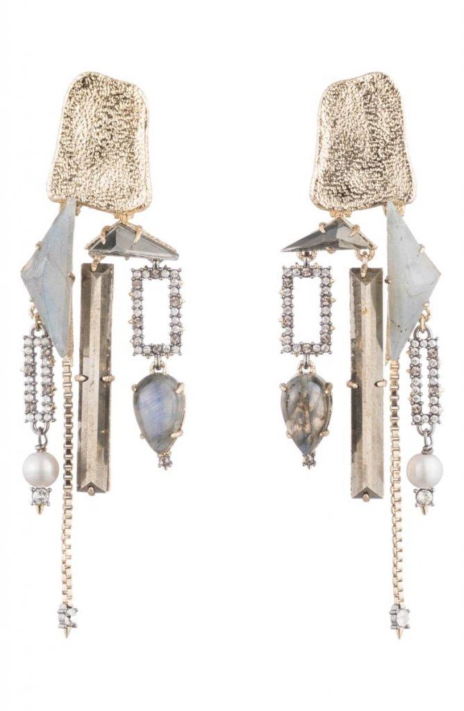 Clip-On Chandelier Earrings