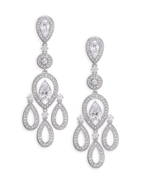 Earrings Silvertone