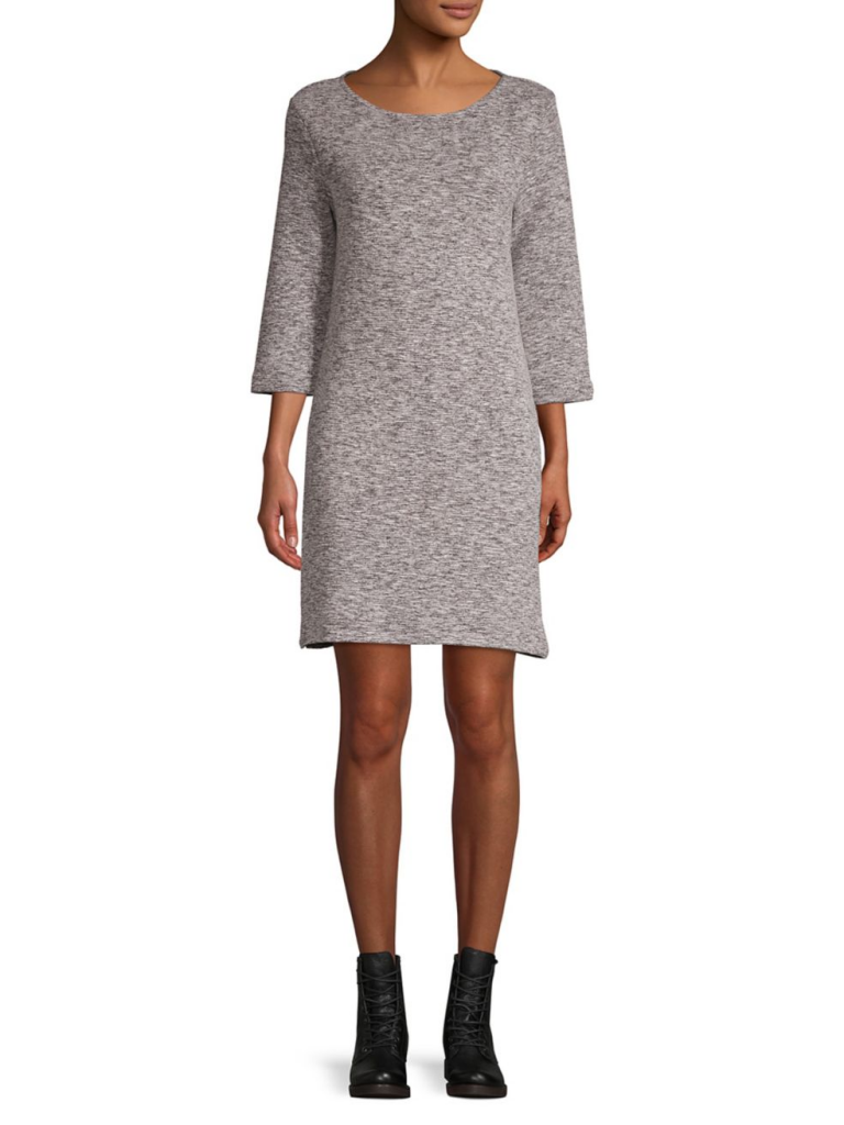 French Connection Laurel Textured Sweater Dress