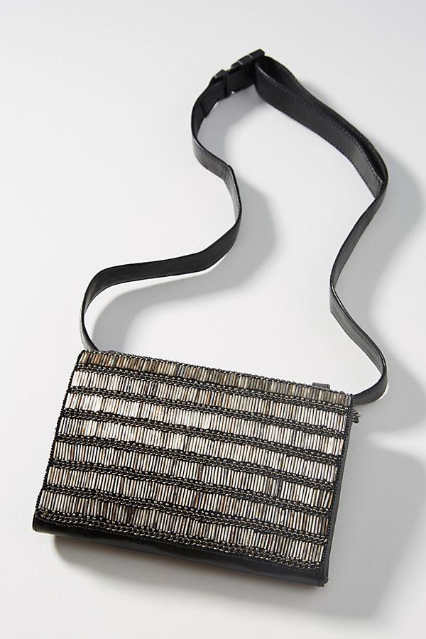 Heavy Hitter Beaded Belt Bag