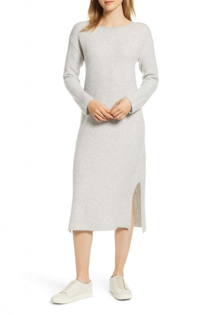 Lou + Grey Delilah Long Sleeve Sweater Dress