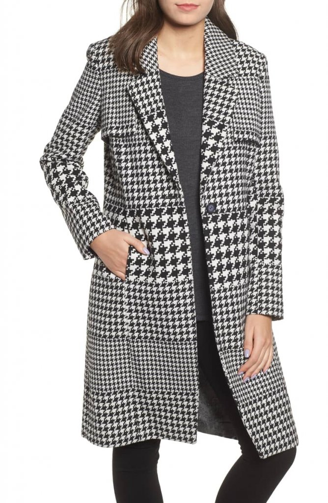 Multi Houndstooth Coat