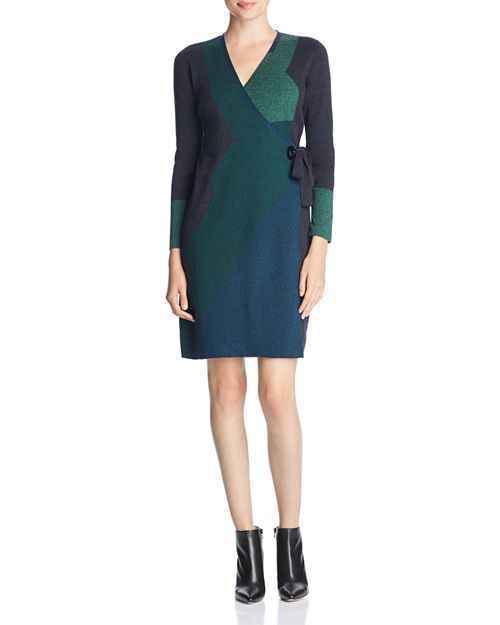 NIC and ZOE Ocean Mix Sweater Dress