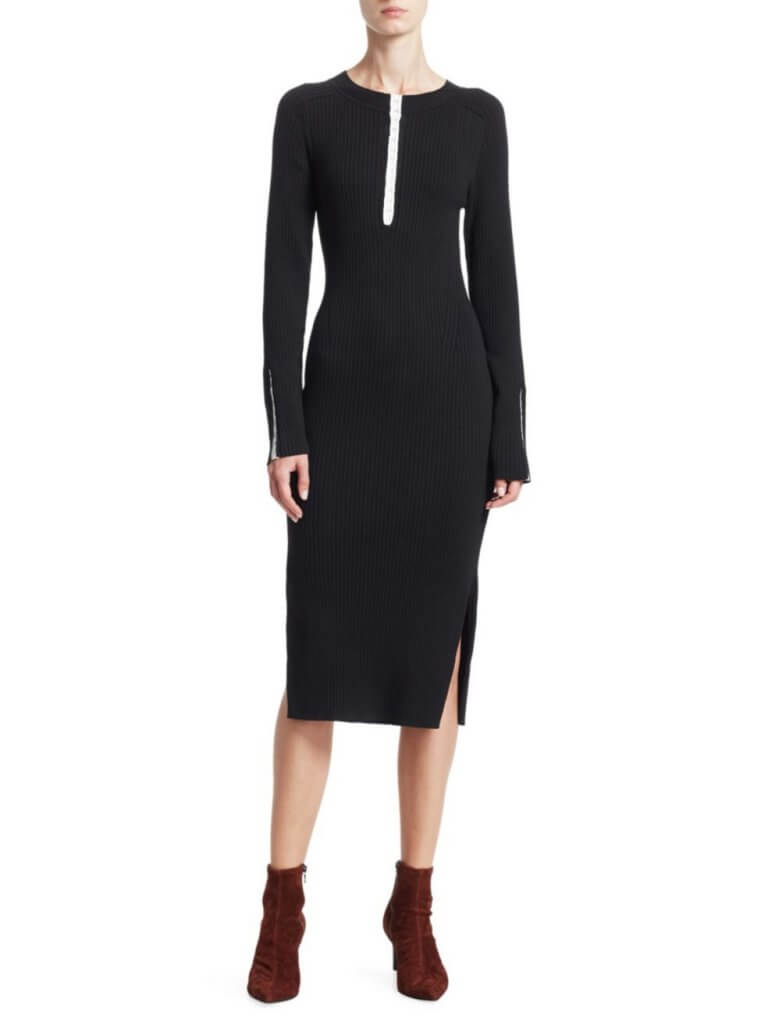 Rag+Bone Rib Knit Dress