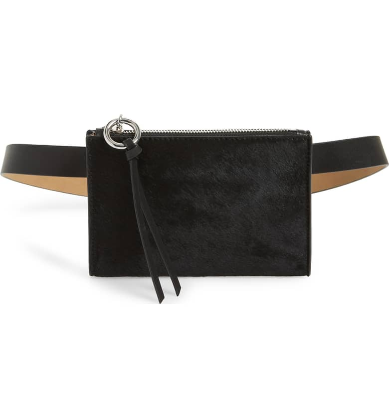 Rebecca Minkhoff Ava Genuine Calf Hair Belt Bag