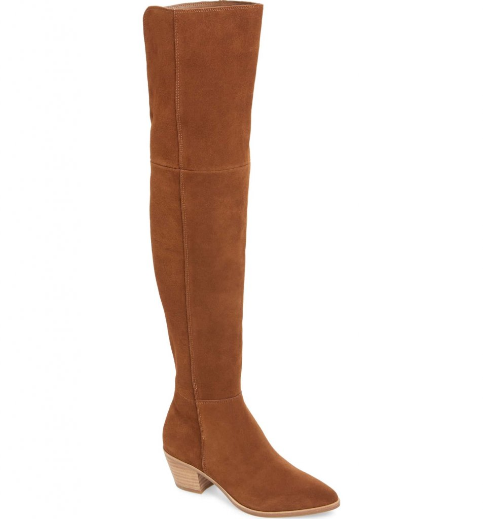 Steve Madden Lucca Pieced Over the Knee Boot