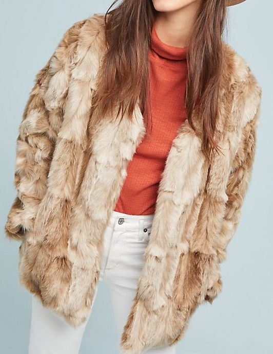 Bold Ambition Faux Fur Jacket