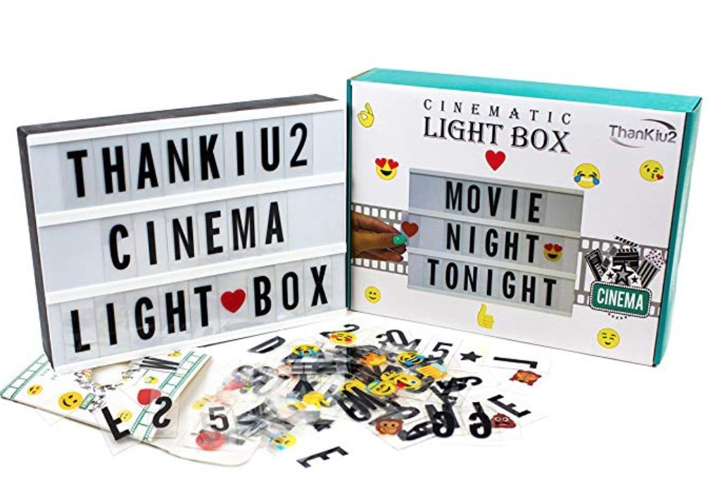 Cinema Letter Lightbox