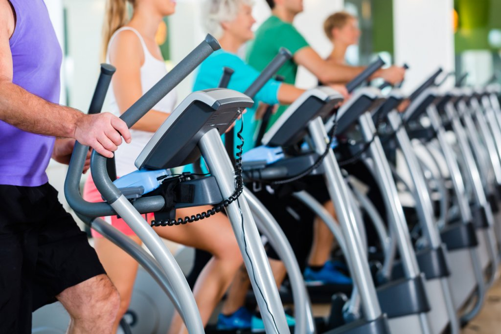 Elliptical Workout Class