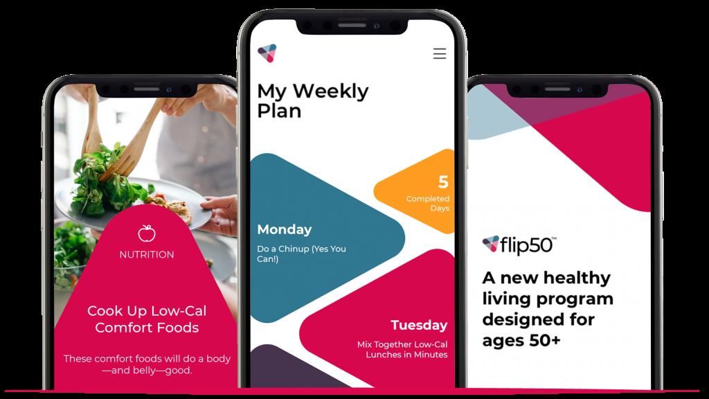 Flip50 Fitness App