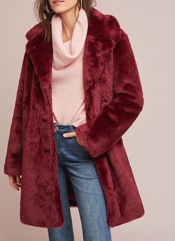 Tayberry Faux Fur Coat