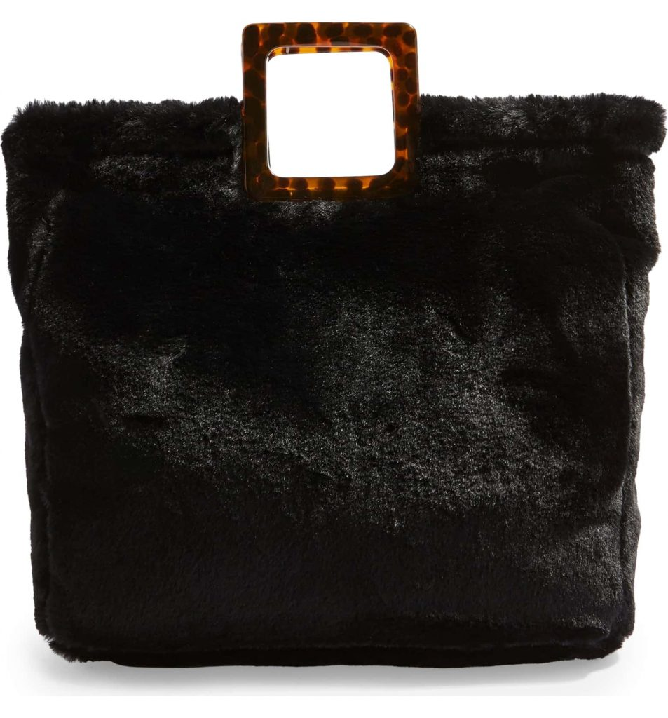 TopShop Freddy Faux Fur Tote Bag