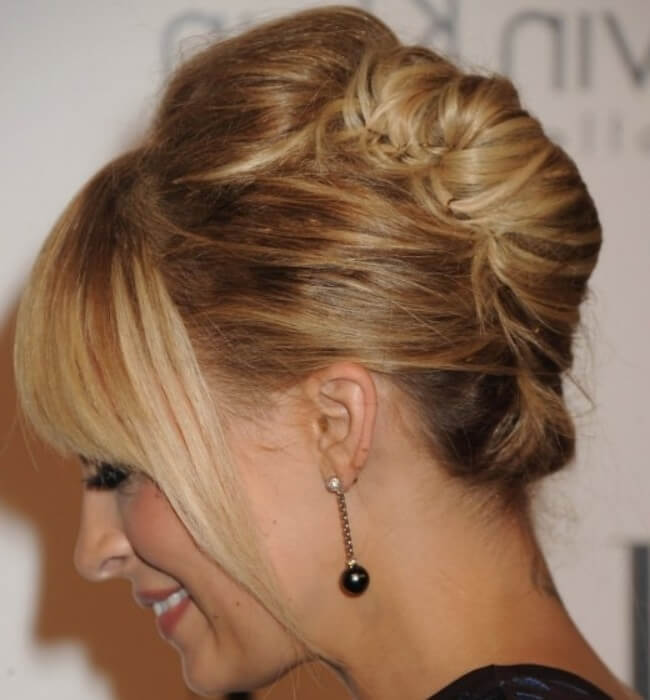 Easy Updo Hairstyles For Receiving Guests This Festive Season