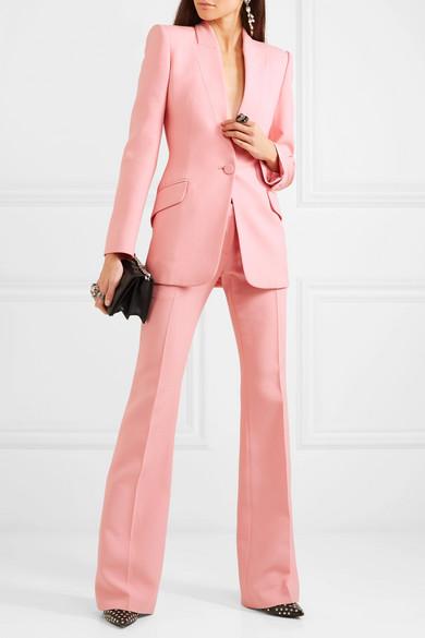Aleander McQueen Pink Suit-Moda Operandi