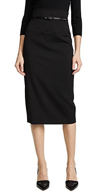 Black Halo Pencil Skirt