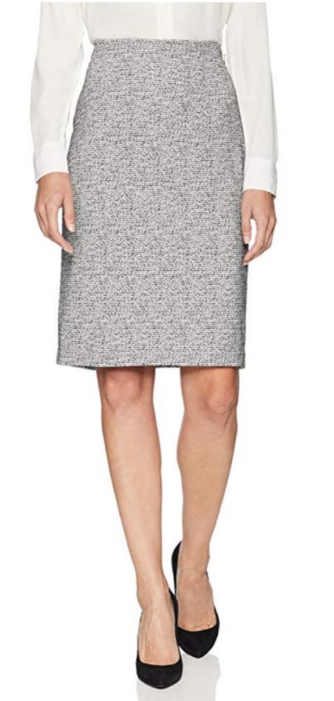 Ellen Tracy Womens Pencil Skirt