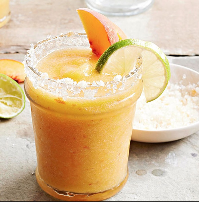 Gingered Peach Margarita
