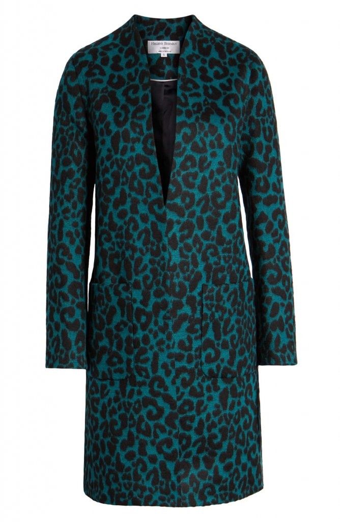 Helene Berman Leopard Spot Coat