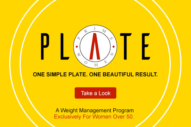 PrimeWomen Plate Weight Management Graphic