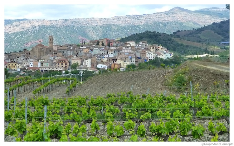 Priorat Countryside and Monsant Mountains