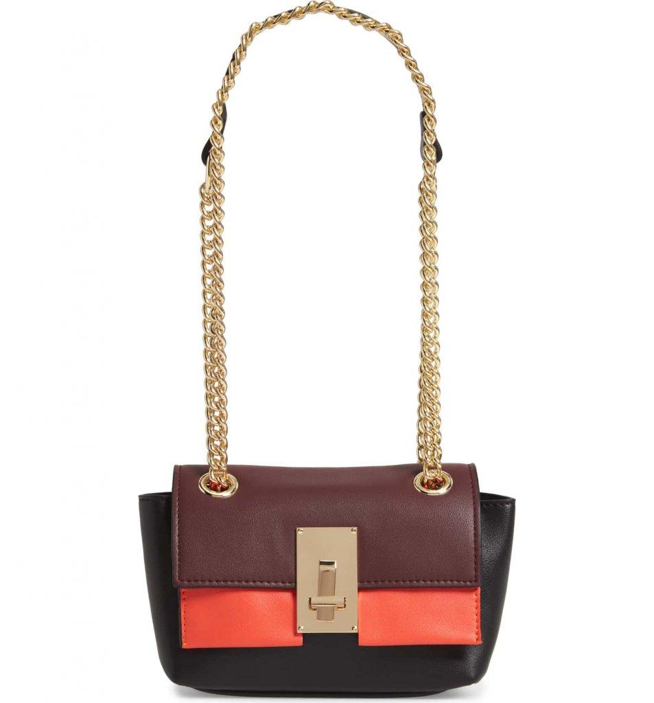 SR Squared by Sondra Roberts Colorblock Handbag