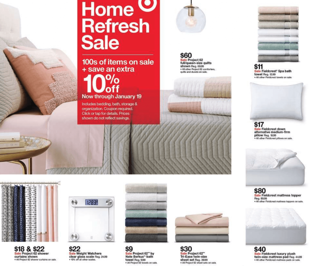 Target White Sale 2019