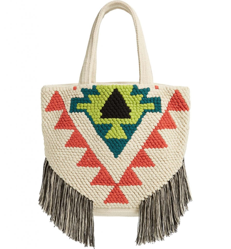 Sole Society Medium Milah Woven Tote
