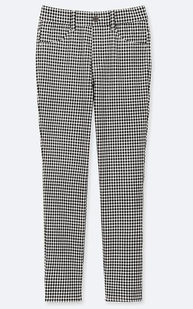 Uniqlo, Ultra Stretch Print Cropped Leggings-Pants