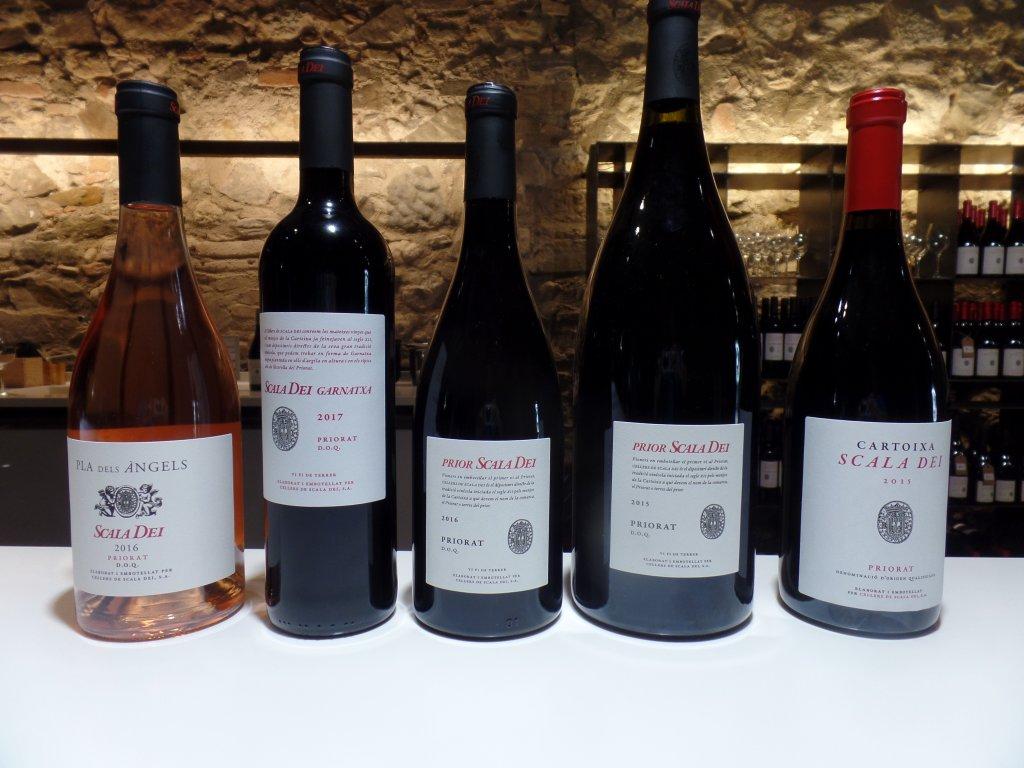 Cellars Scala Dei Wine Tasted