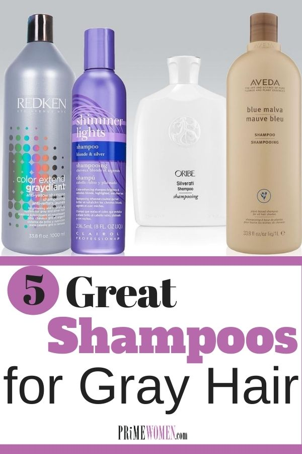 5 Great Shampoos for Gray Hair