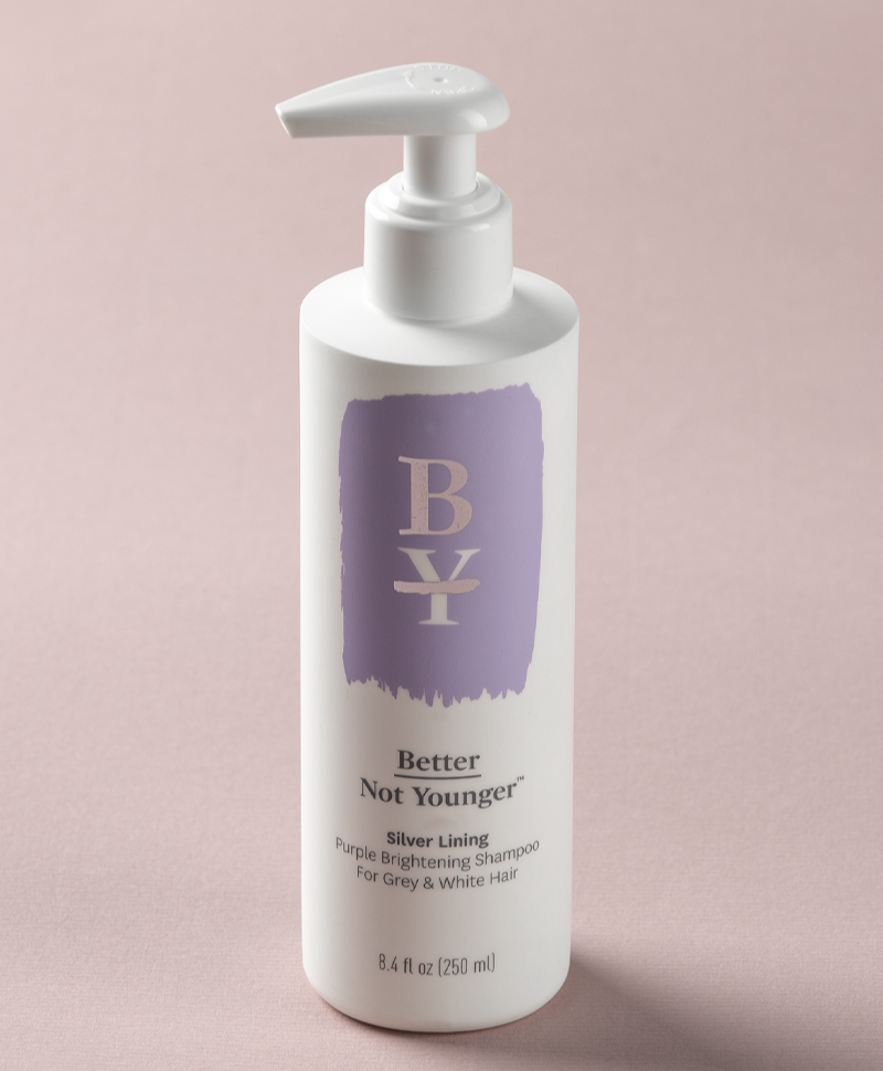 Better Not Younger Silver Lining Shampoo for grey hair