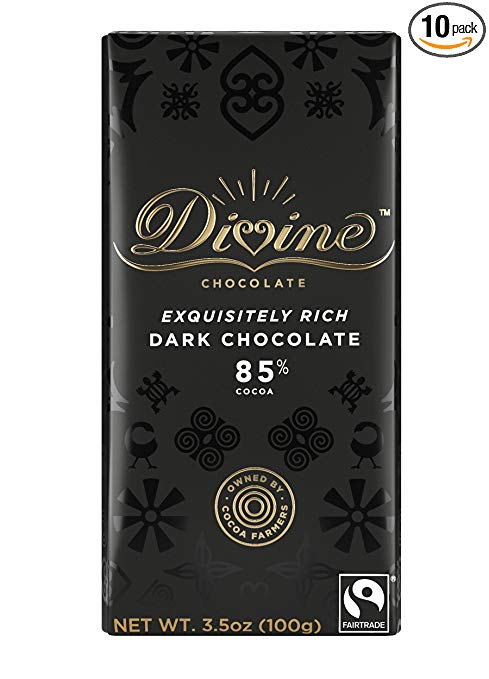 Divine Dark Chocolate Bar