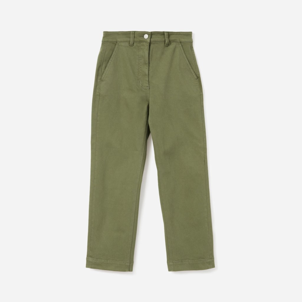 Everlane Straight Leg Crop Trouser