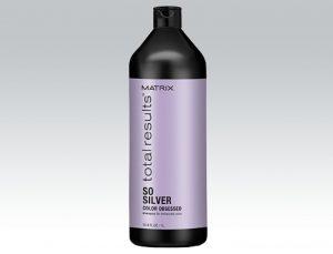 Matrix shampoo for gray hair