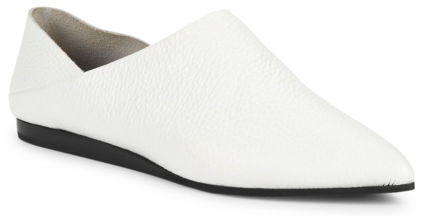 McQ Alexander McQueen Liberty Fold Leather Loafer