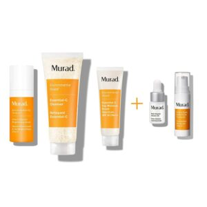 Murad Travel Kit face moisturizer vitamin C revitalizer
