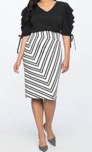 Plus Size Clothing Online at Eloquii - Pencil skirt in patterns and solids