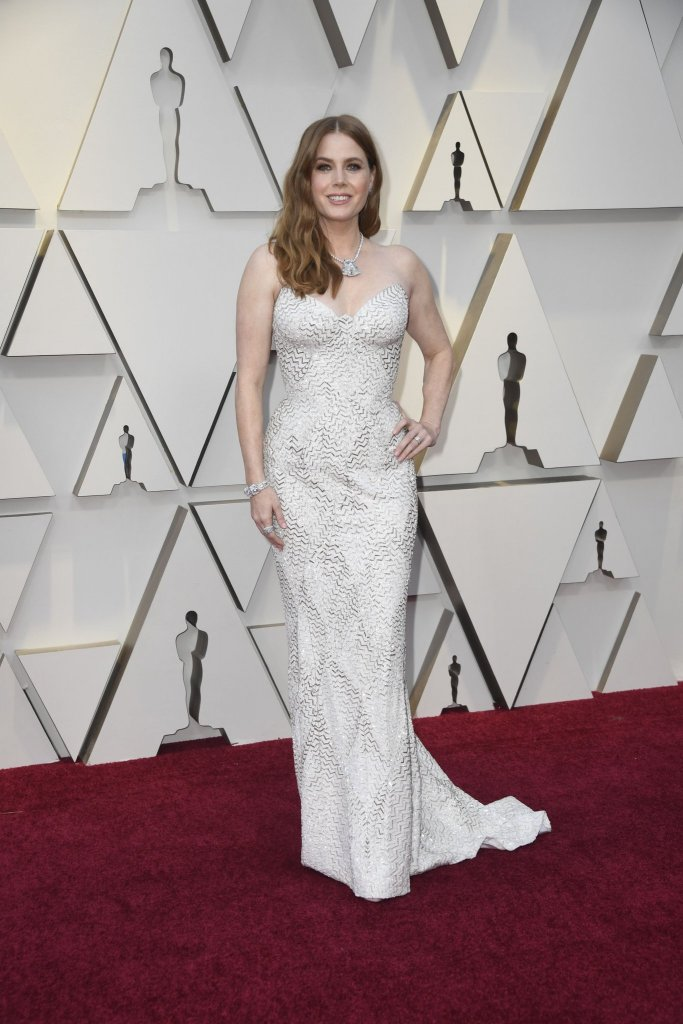 RedCarpet-Oscars-Amy Adams in Atelier Versace