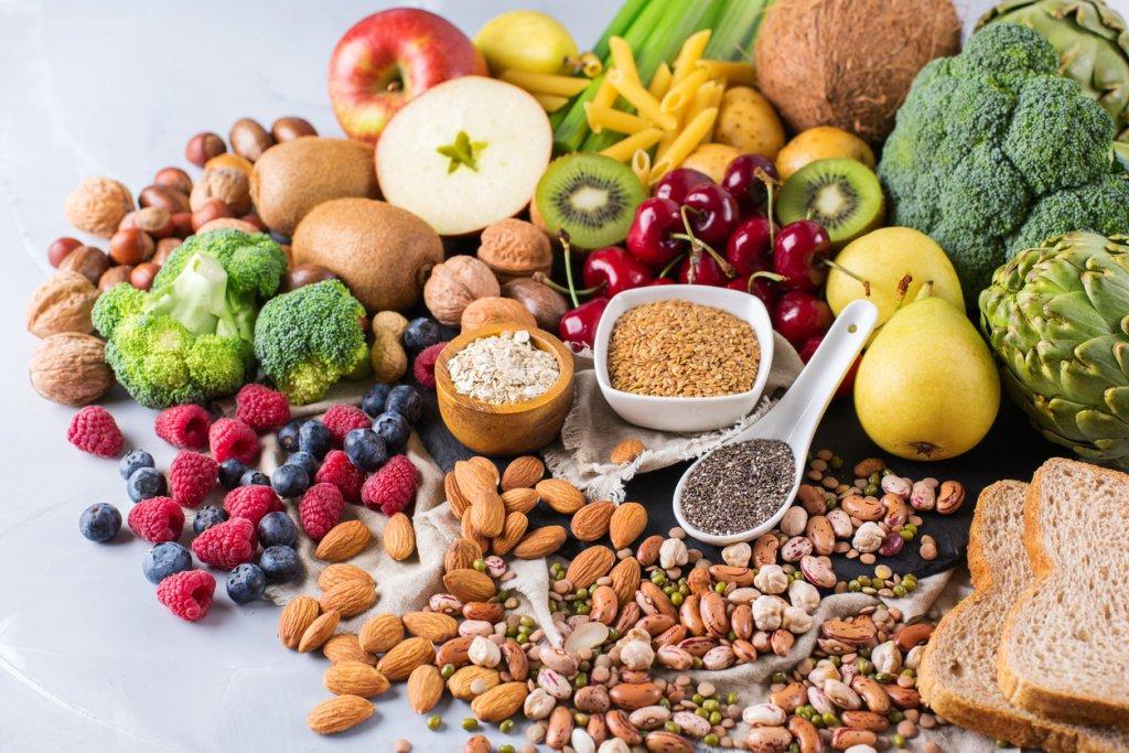 Rich Fiber Foods how much fiber per day